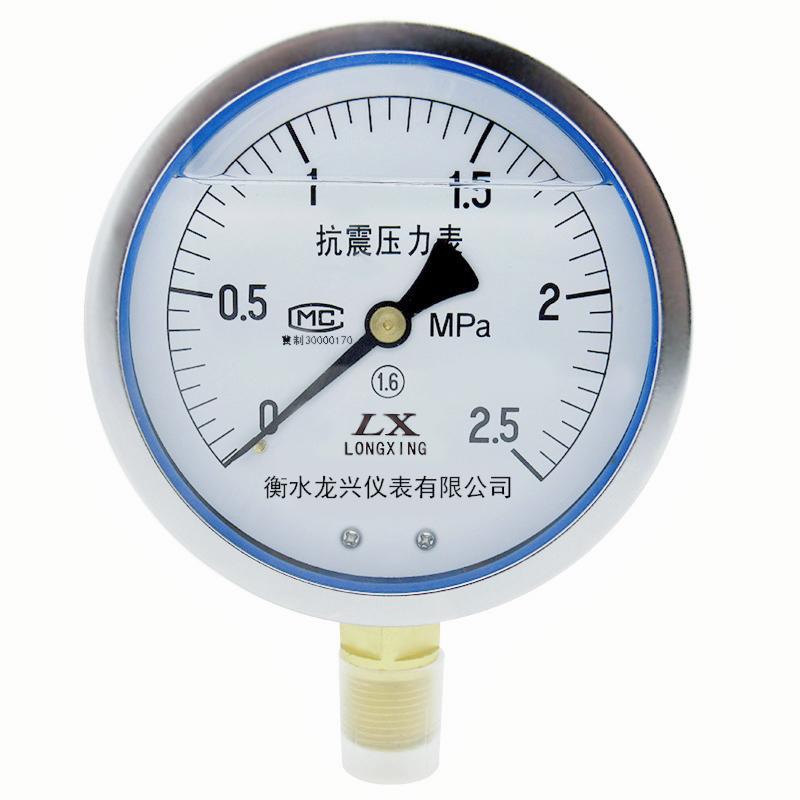 YTN系列 耐震压力表 抗震压力表