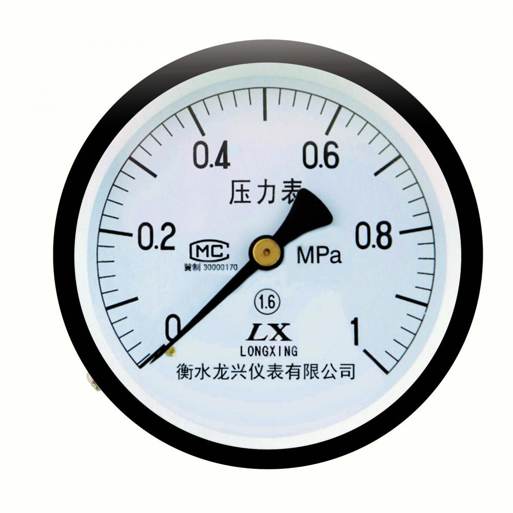 YZ系列轴向压力表